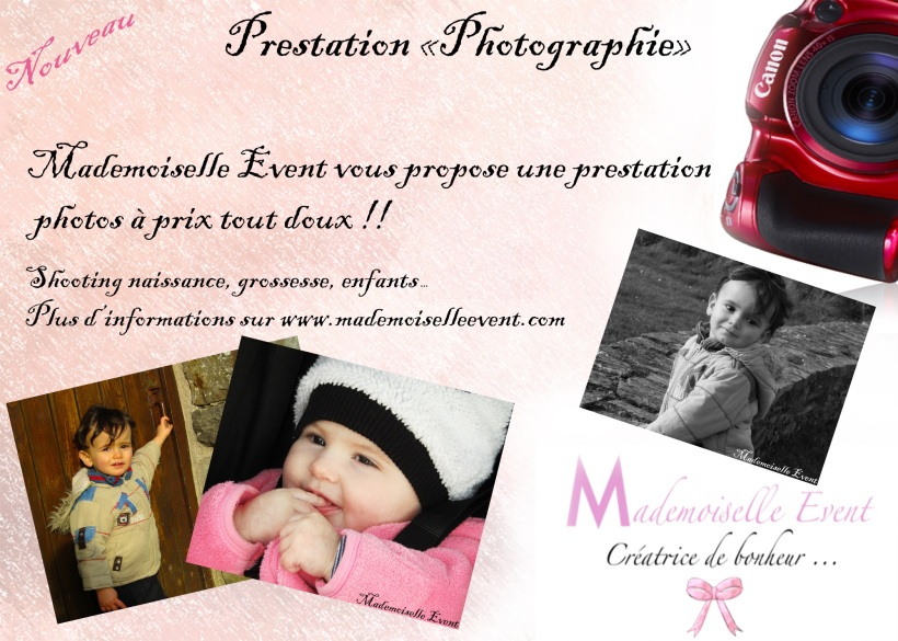 Prestation photographie